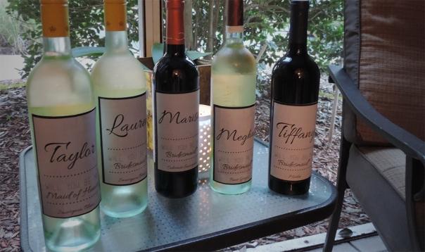 bridesmaid wines