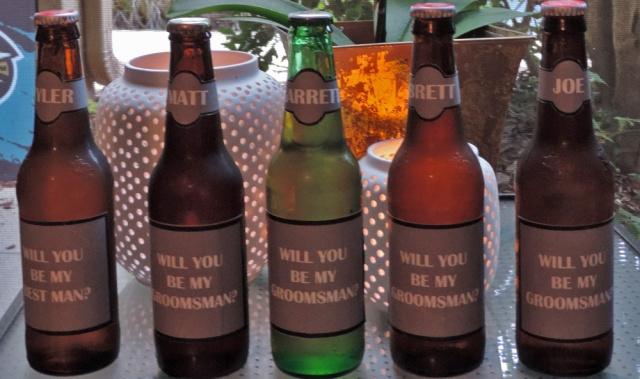 groomsmen beer