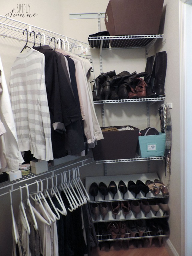Fall Cleaning - Closet 2