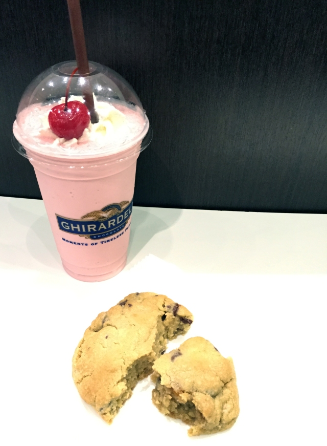 Ghiradelli Strawberry Shake