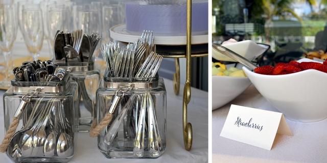 Bridal Shower Table Details