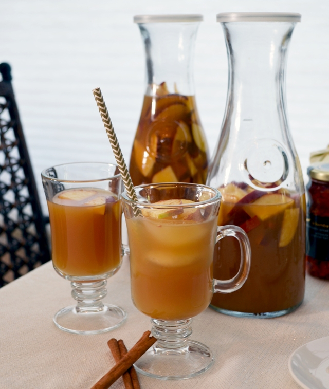 Fall Apple Cider Cocktail