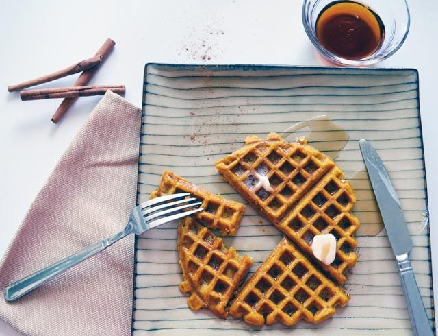 Pumpkin Waffles v2