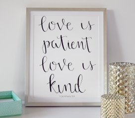 Love is Patient 1