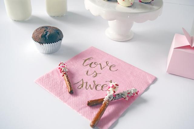 Love is sweet pretzels