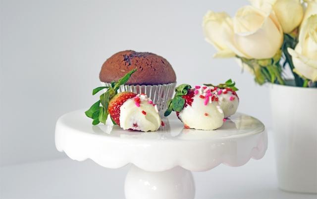 Valentines Day Chocolate Cupcake