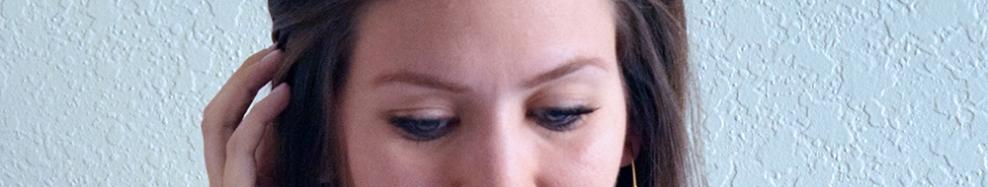 bold brow closeup